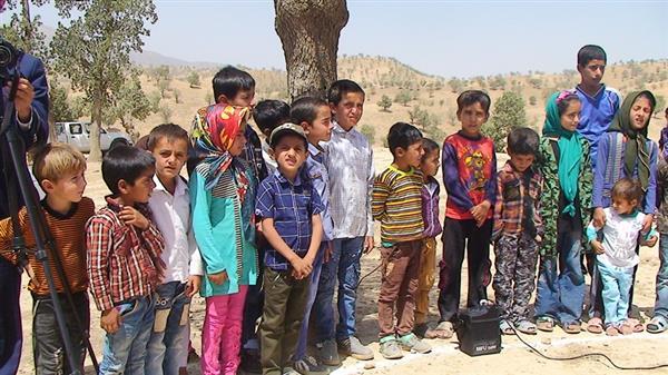 کلنگ مدرسه سه کلاسه روستاي قلعه سما به زمين زده شد